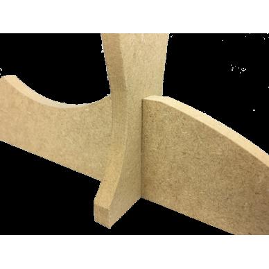 Supporto Singolo per Spada in legno da appoggio.