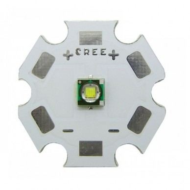 Power Led Cree 3W XP-E2 is welded on to star aluminium. VARIOUS COLORS
