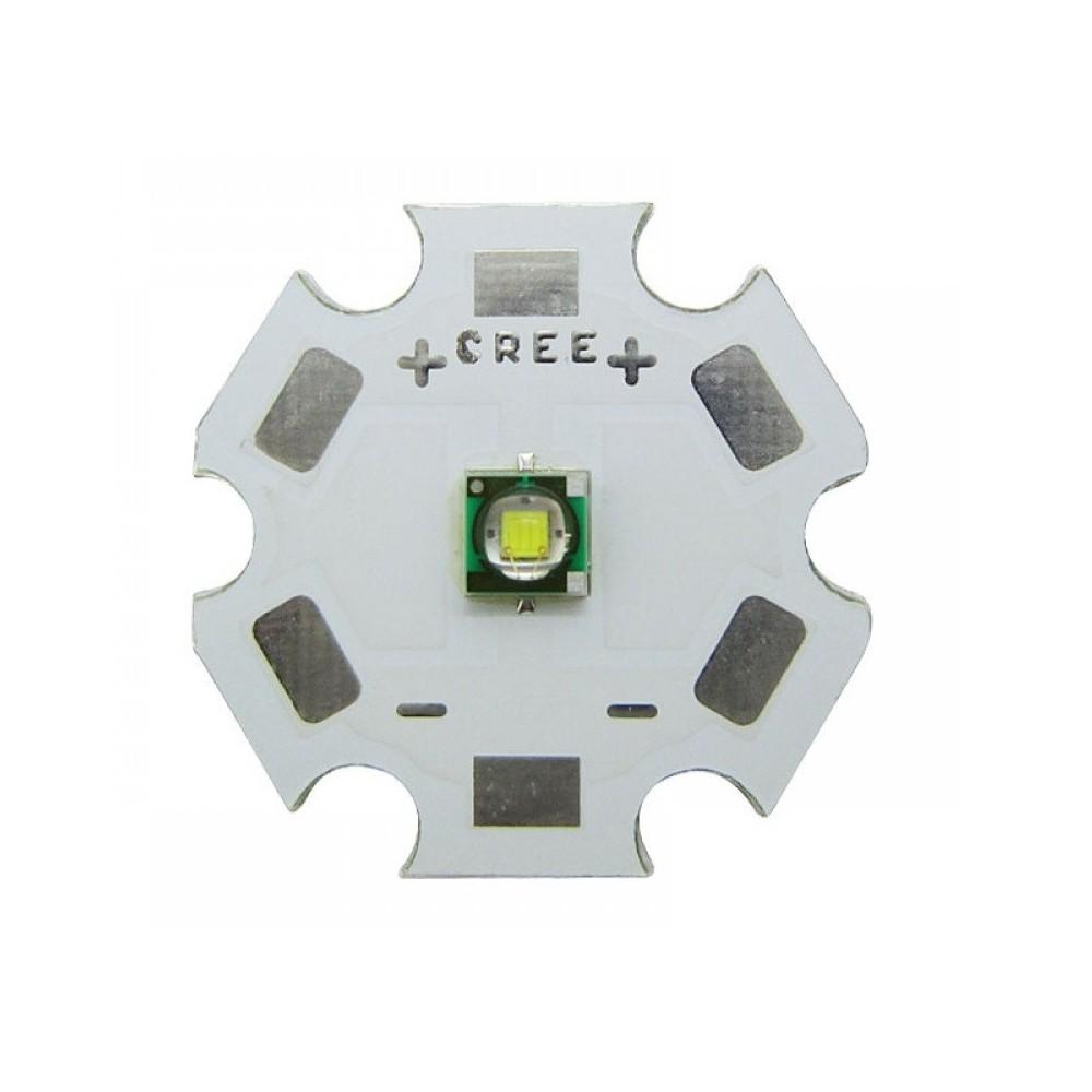 Led di Potenza Cree 3W XPE2 saldato su star alluminio. VARI COLORI
