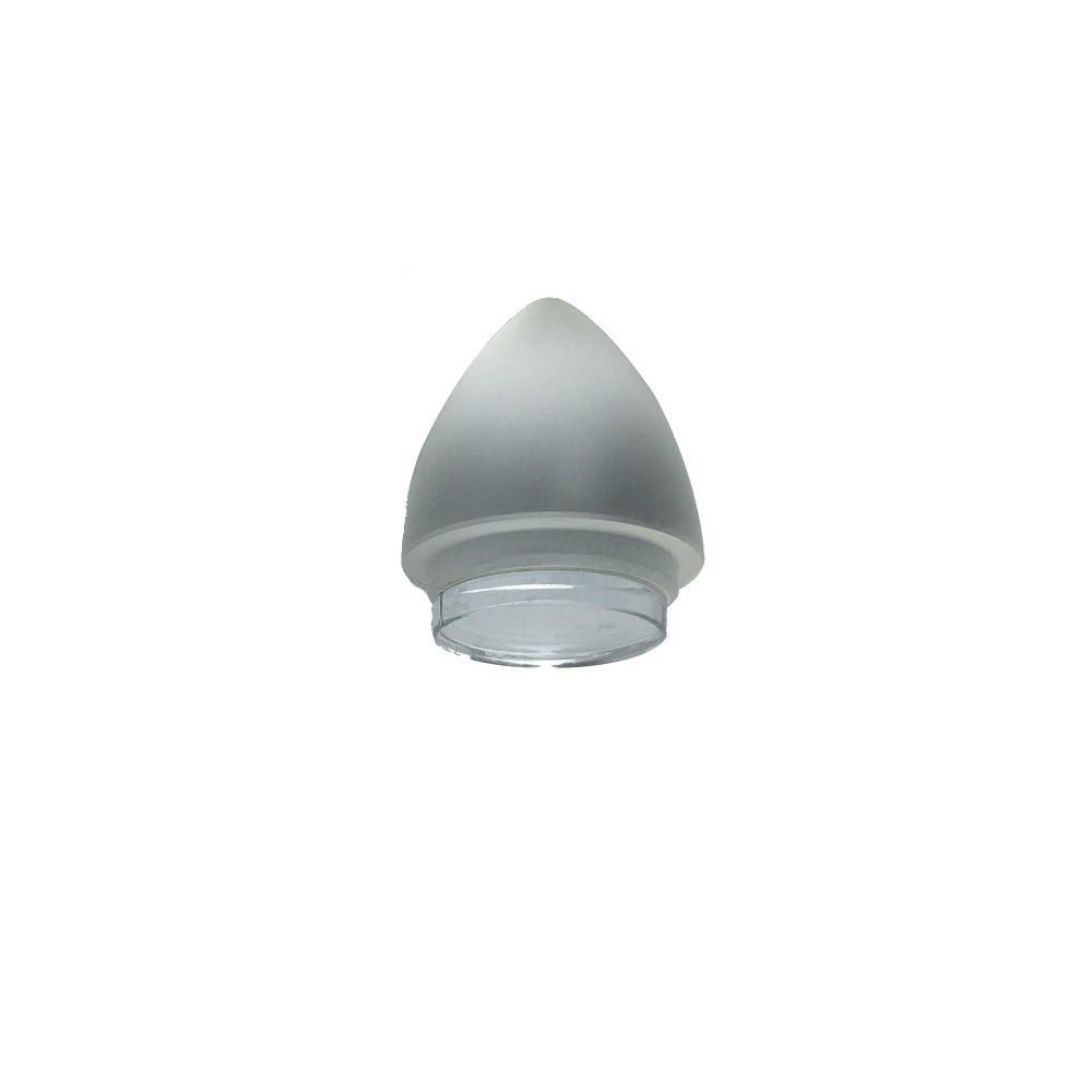 Closing opaque cap Punta 25/21 blade with integrated mirror