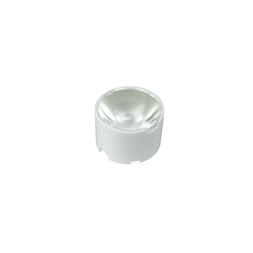 Optical lens 10° led high power CREE plastic