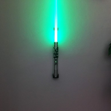 Single Support in Wood for one lightsaber