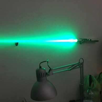 Vertical Single Stand for Wall Laser Sword