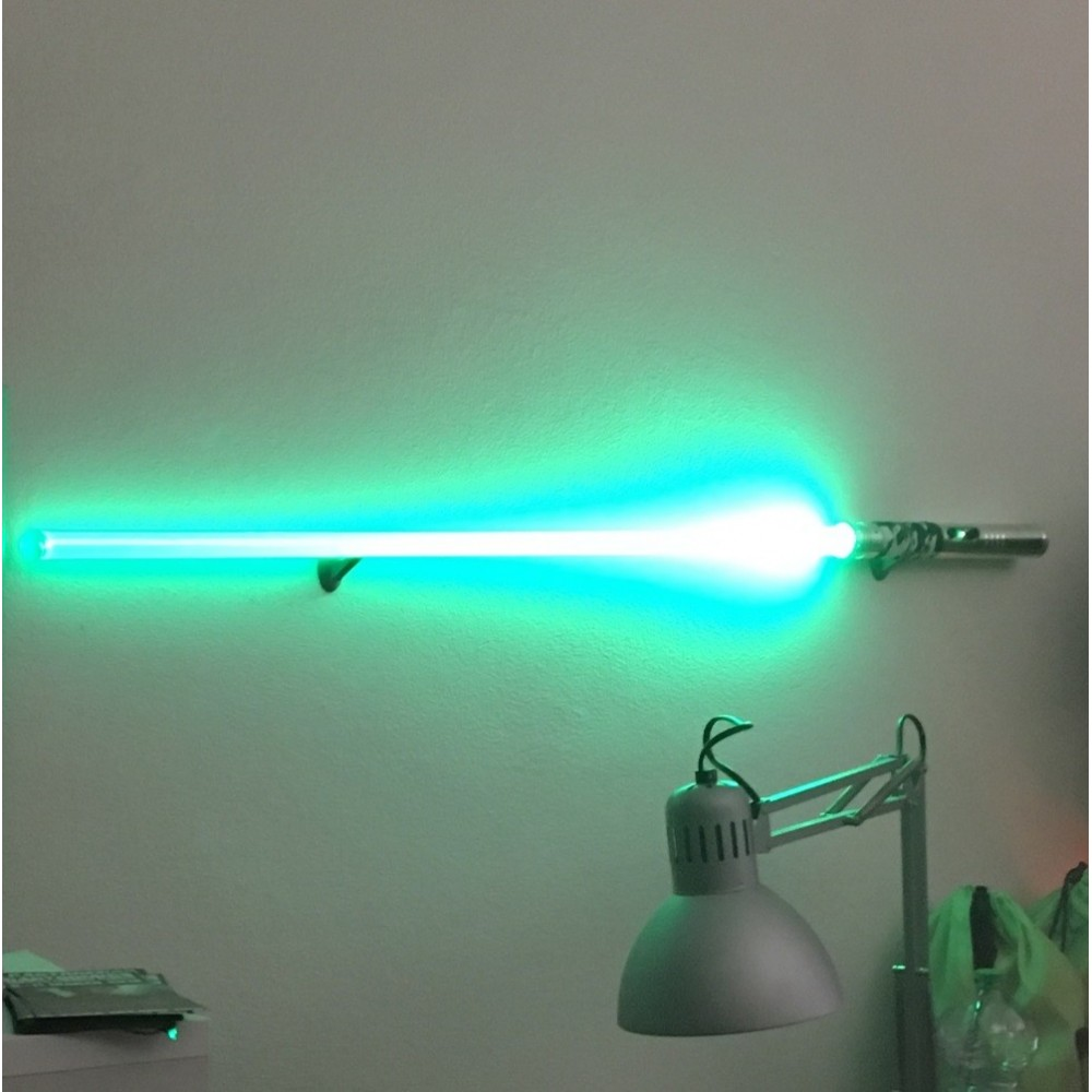 Horizontal support Single Laser Sword From the Wall