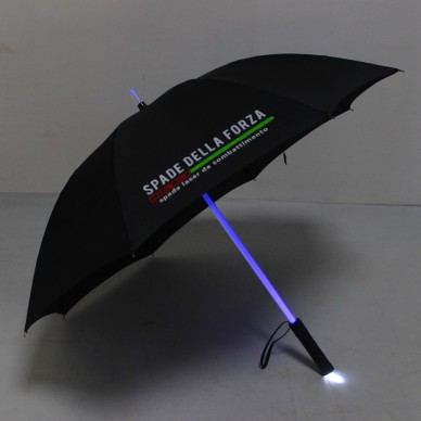 Umbrella lightsaber Light 7 colors with the torch. black