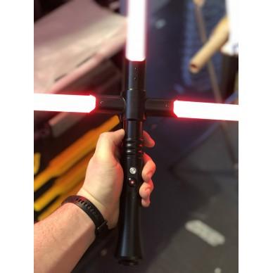 Spada laser con guardia laser modello IDRA. Crossguard da combattimento.