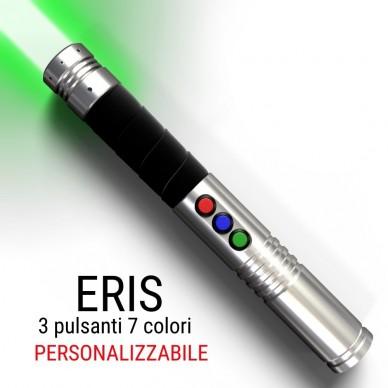 spada laser da combattimento modello eris 3 pulsanti 7 colori