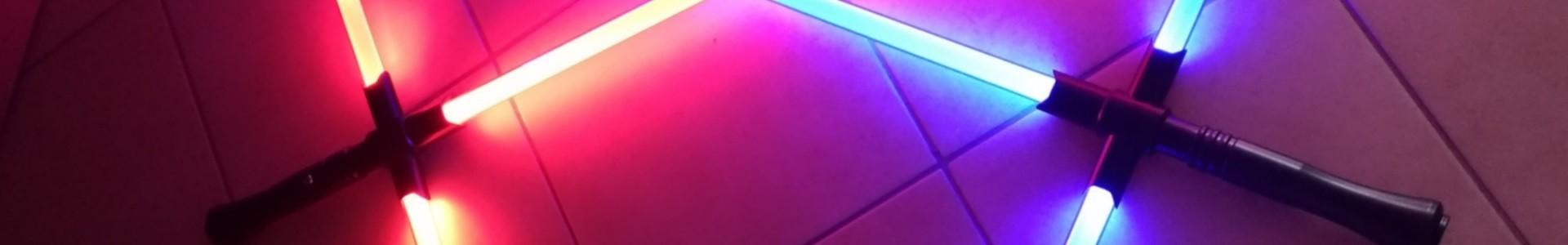 Personalizza la tua Spada laser con guardia. combat crossguard.