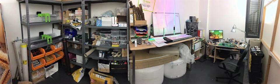 Una Parte del Laboratorio