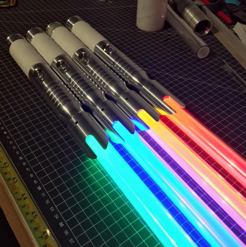 Spada laser da combattimento crono personalizzabile