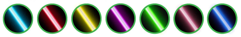 7 colori ombrello spada laser luminoso lightsabers umbrella
